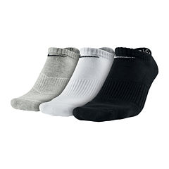 Nike® 3-pk. Performance Cotton No-Show Socks
