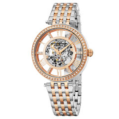 Stuhrling Womens Two Tone Bracelet Watch-Sp16317