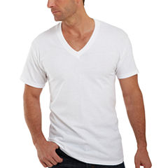 Hanes Comfortblend 3-pc. Short Sleeve V Neck T-Shirt