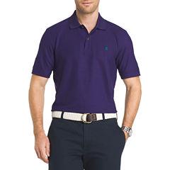 IZOD Advantage Short Sleeve Solid  Polo Shirt