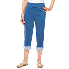 Alfred Dunner Indigo Girls Denim Capris