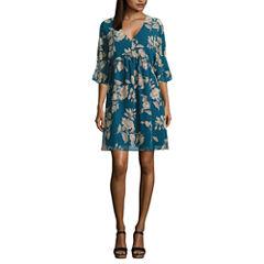 a.n.a Floral Shift Dress