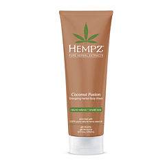 Hempz® Coconut Fusion Energizing Herbal Body Wash - 8.5 oz.