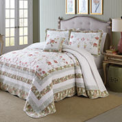 MaryJane's Home Wild Rose Bedspread & Accessories