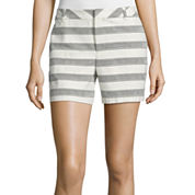 Liz Claiborne® Jacquard Shorts