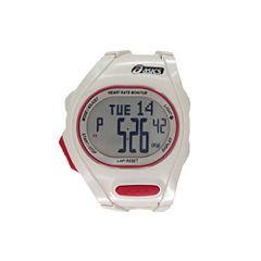 Asics AH01 Heart Rate Monitor White Watch-CQAH0103Y