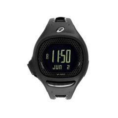 Asics Ap02 Runner Unisex Black Strap Watch-Cqap0202y