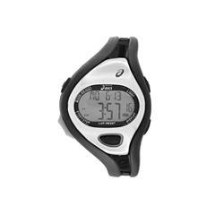 Asics Ar05 Runner Unisex Black Strap Watch-Cqar0501y