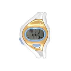 Asics White/Gold Ar05 Runner Unisex Multicolor Strap Watch-Cqar0512y