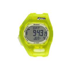 Asics Ar08 Night Run Unisex Green Strap Watch-Cqar0805y