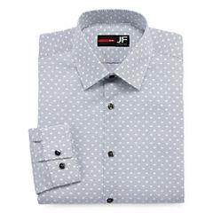JF J. Ferrar® Long-Sleeve Stretch Dress Shirt