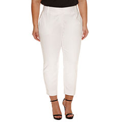 Worthington Curvy Slim Fit Ankle Pants 26