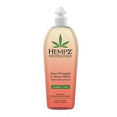 Hempz® Sweet Pineapple & Honey Melon Bath & Body Oil - 6.76 oz.