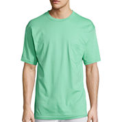 Stafford® Performance Heavyweight Crewneck Pocket Tee