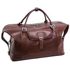 Mcklein Siamod Amore Leather Duffel Bag Luggage