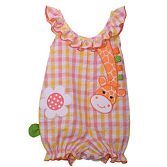 Bonnie Jean Sleeveless Bubble Romper - Baby Girls