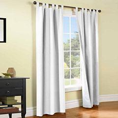 Weathermate 2-Pack Room-Darkening Tab-Top Curtain Panels