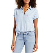 Levi's® Short Sleeve Button-Front Shirt