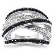 Sparkle Allure Multi Color Crystal Cocktail Ring