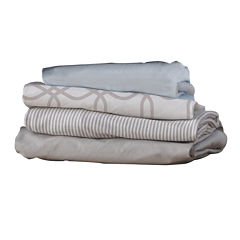 2-pk. Fitted Cradle Sheets