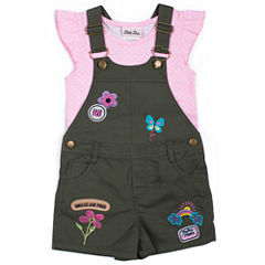 Little Lass Shortall Set Baby Girls
