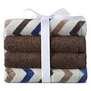 Home Expressions™ Circles 4-pk. Washcloth Set