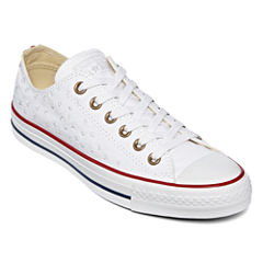 Converse Chuck Taylor All Star Embroidered Sneakers Womens Sneakers