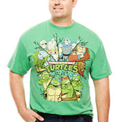 Bioworld® Short-Sleeve TMNT Character Tee - Big & Tall