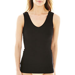 Jockey® Slimmers Reversible Hidden Panel Tank Top - 4096