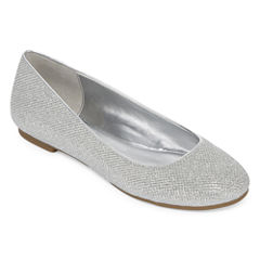 Worthington® Fifi Metallic Ballet Flats