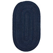Capel Vivid Braided Oval Rug