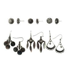 Decree 12-pc. White Earring Sets