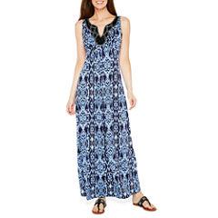 Ronni Nicole Sleeveless Embellished Maxi Dress