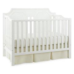 Savanna Carli Convertible Crib - Bright White