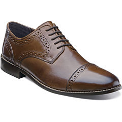 Nunn Bush® Norcross Mens Cap-Toe Leather Oxfords