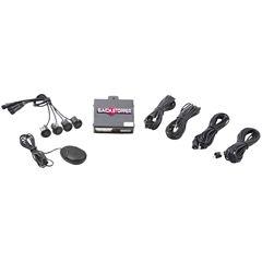 CrimeStopper Security Products CA-5017.MATT.2 Front Parking Assist with Audible Alert & Matte Sensors