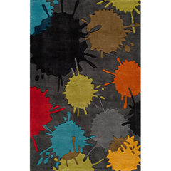 Momeni Lil Mo Paint Ball Hand Tufted Rectangular Rugs