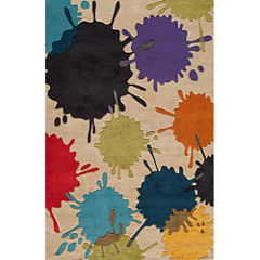 Momeni Lil Mo Paint Ball Hand Tufted Rectangular Rugs