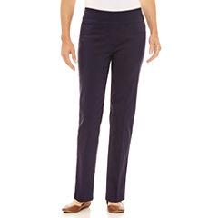 Lark Lane Lark Essentials Twill Pull-On Pants