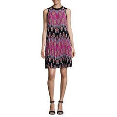 Nicole By Nicole Miller Sleeveless A-Line Dress