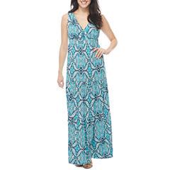 St. John's Bay Sleeveless Maxi Dress