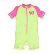 Wippette 1-pc. Butterfly Swimsuit - Baby Girls newborn-24m