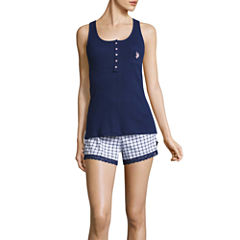 Us Polo Assn. Shorts Pajama Set-Juniors