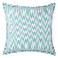 JCPenney Home™ Cotton Classics Chevron Reversible Euro Pillow