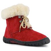 Lamo Bianca Girls Suede Lace-Up Boots - Little Kids/Big Kids Shoes