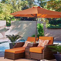Relax-A-Lounger Santa Cruz Patio Lounge Chair