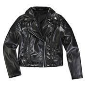 Total Girl® Moto Jacket - Preschool Girls 4-6x