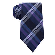 Stafford® Lakefront Plaid Tie - Extra Long
