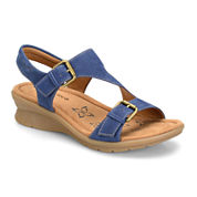 Comfortiva Kay Strap Sandals - Wide