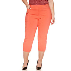 Worthington® Pull On Slim Crop 23